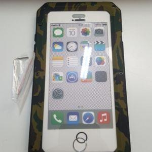 """Case gorilla for iphone 7/8 plus 5.5"""" black-camo"""